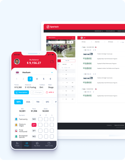 Sportech online betting platform case study