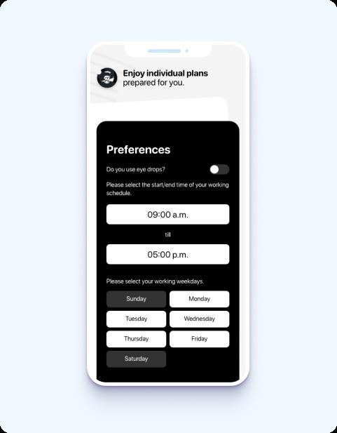 BLNK - iOS mobile app design