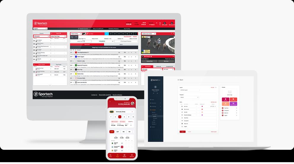 Sportech - online betting platform omnichannel