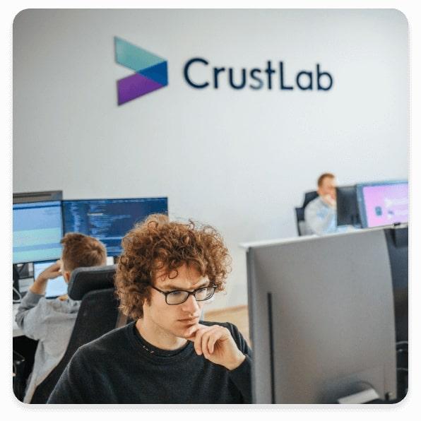 CrustLab team photo