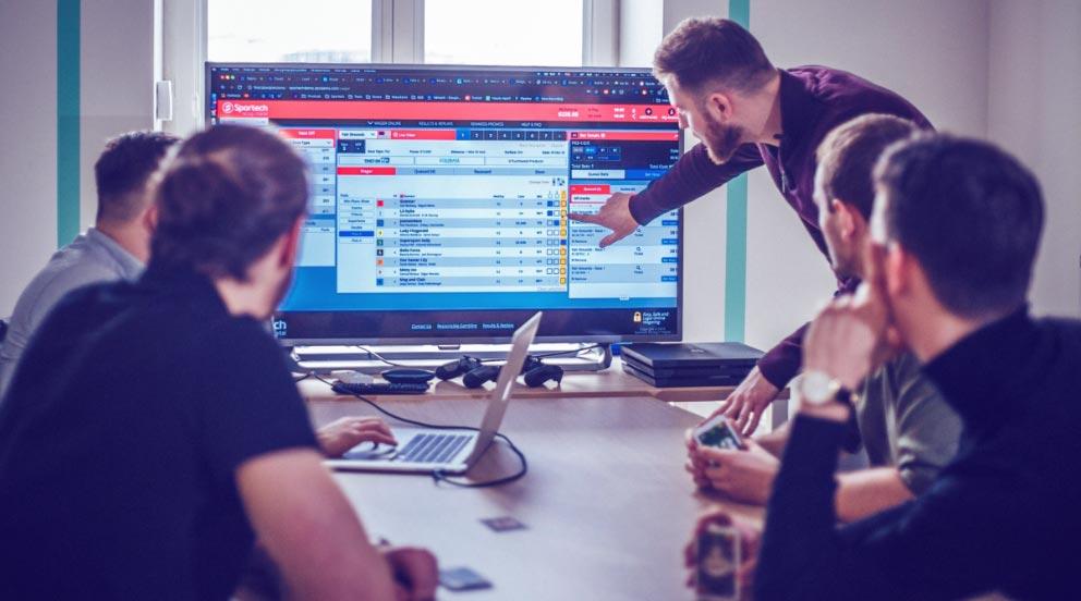 Sportech online betting platform