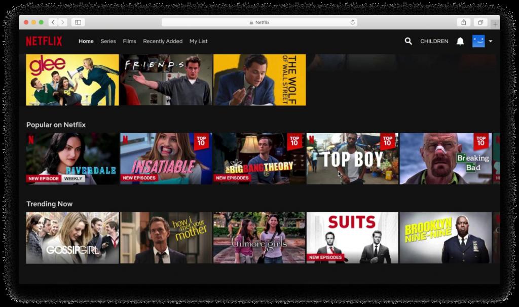 Video Platform - Netflix