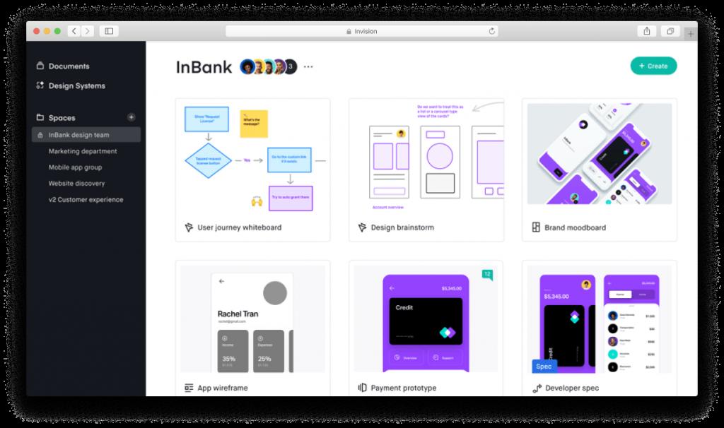 SaaS platform - Invision